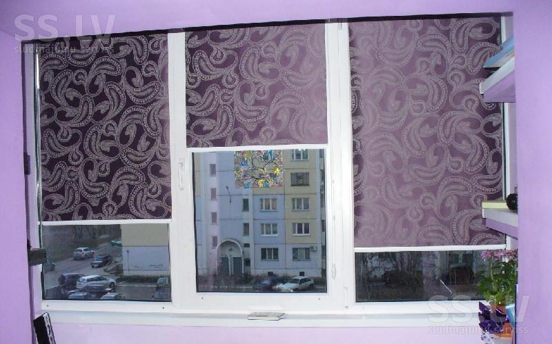 Рулонные шторы на пластиковые окна в балашихе