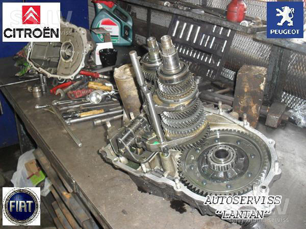 Фото №43 - ВАЗ 2110 ремонт коробки передач