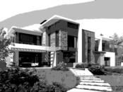 Projekti, dizains Arhitektūras projekti, plāni, Foto