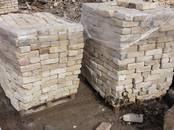 Būvmateriāli,  Ķieģelis, akmens, kaltais akmens Ķieģelis, cena 0.25 €/gab., Foto