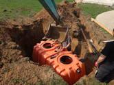 Строительные работы,  Строительные работы, проекты Канализация, водопровод, цена 1 390 €, Фото