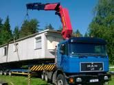 Перевозка грузов и людей Крупногабаритные грузоперевозки, цена 1.15 €, Фото