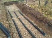 Строительные работы,  Строительные работы, проекты Канализация, водопровод, цена 30 €, Фото
