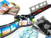 Аудио, Видео, DVD, SAT,  Video, DVD Услуги видеооператора, цена 30 €/час, Фото