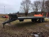 Lauksaimniecības tehnika,  Piekabes Platformas, ruļļu pārvadātāji, cena 1 000 €, Foto