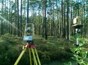 Projekti, dizains Geoloģiskie izmeklējumi, zemes mērītāji, Foto
