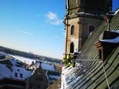 Saimniecības darbi Jumtu tīrīšana no sniega un lapām, cena 5 €, Foto