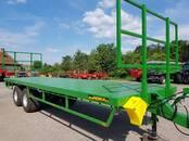 Lauksaimniecības tehnika,  Piekabes Platformas, ruļļu pārvadātāji, cena 9 500 €, Foto