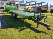 Lauksaimniecības tehnika,  Piekabes Platformas, ruļļu pārvadātāji, cena 19 299 €, Foto